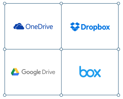 Migrate to Dropbox, OneDrive, Google Drive and Box
