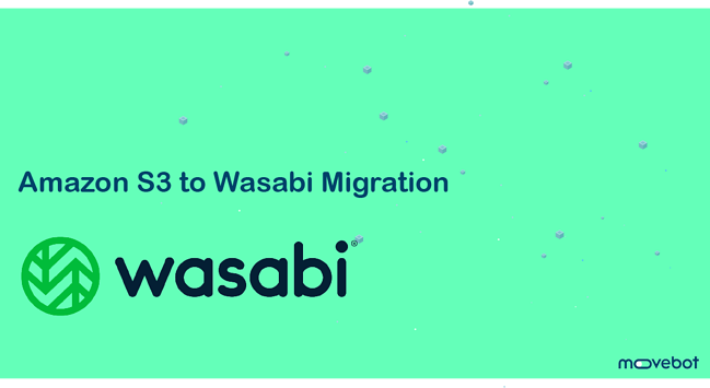 amazon s3 to Wasabi