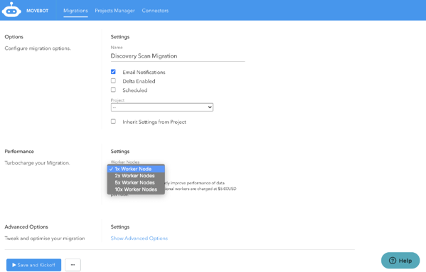 Fast sharepoint migrations