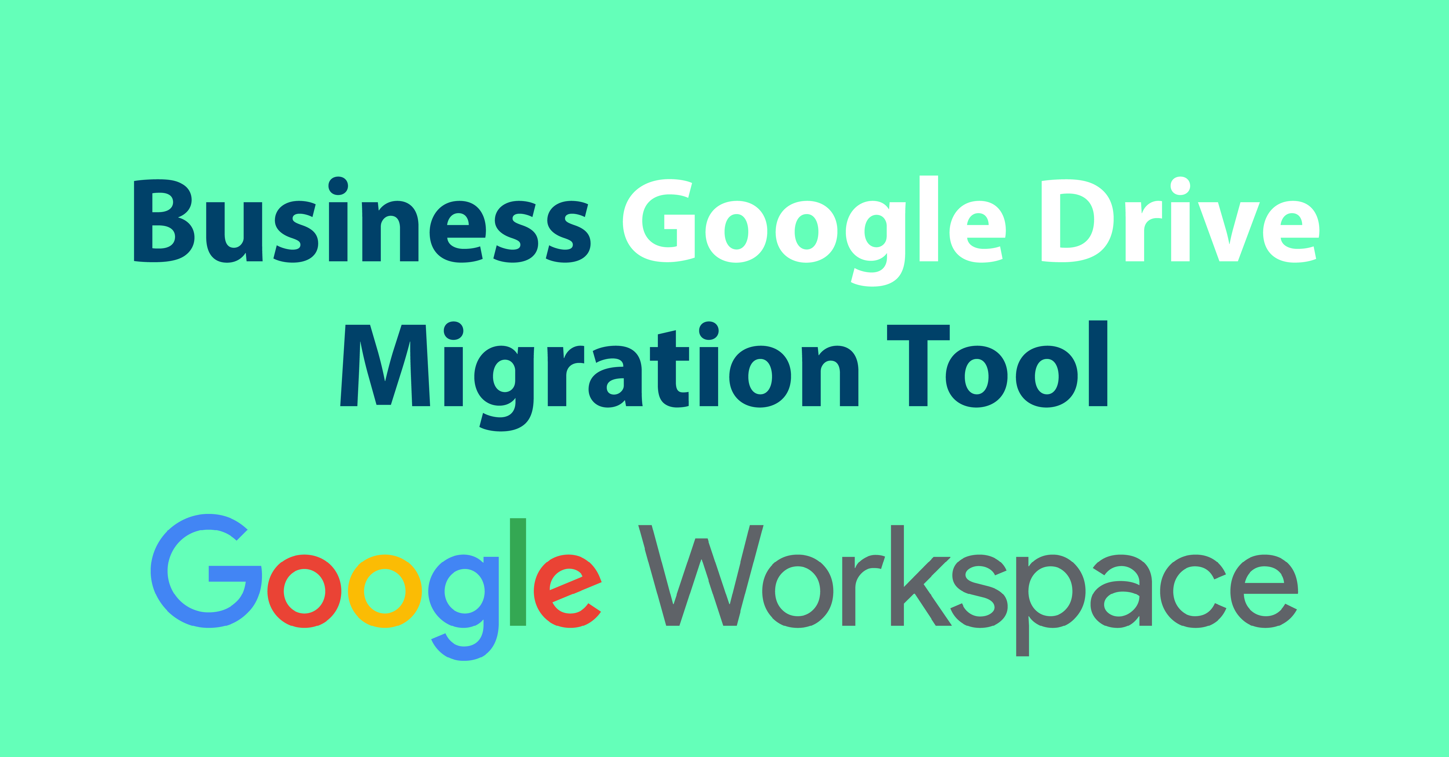Google Workspace, Drive migration tool