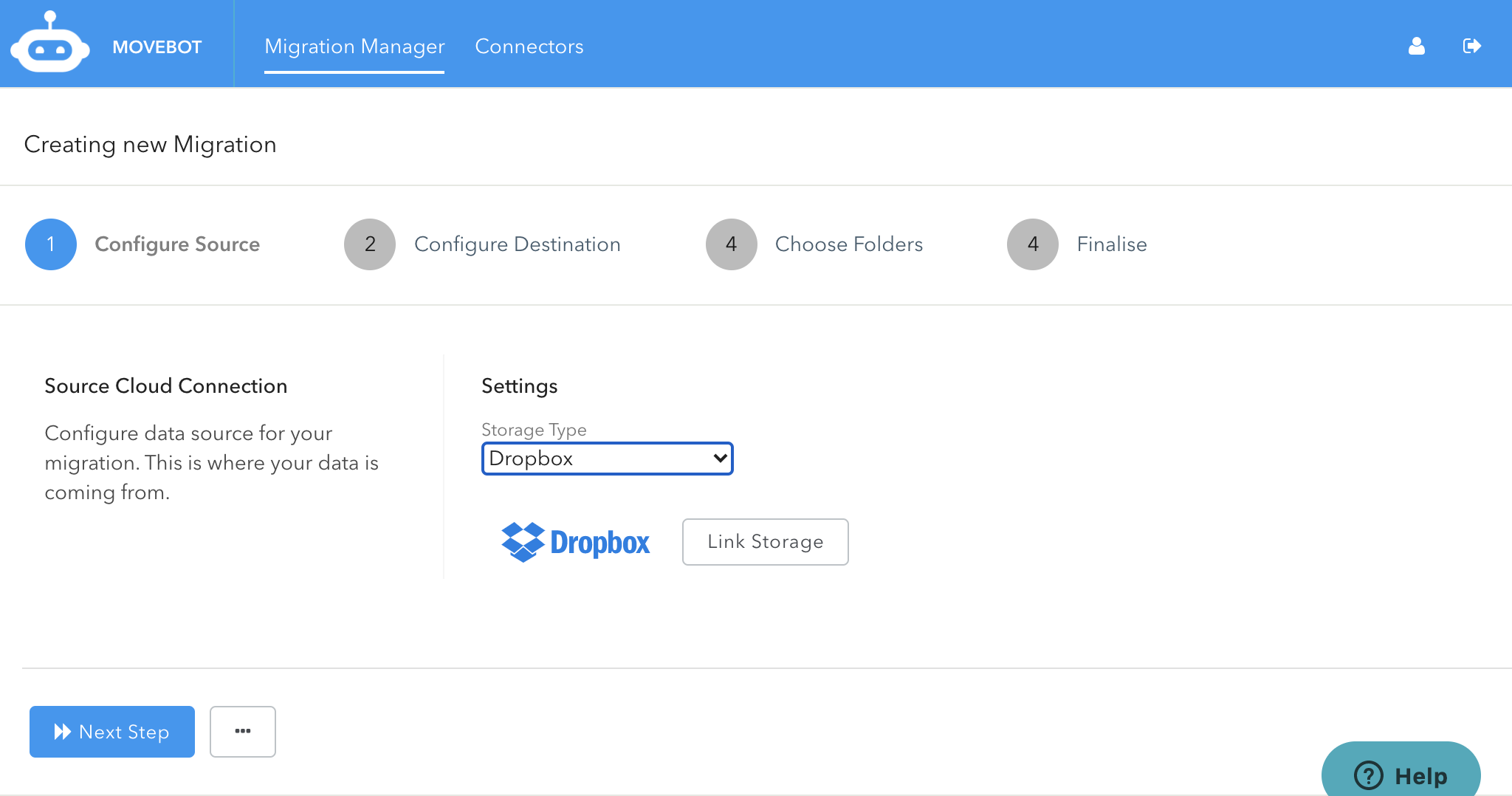 Configuring Dropbox for Transfer to Google Drive