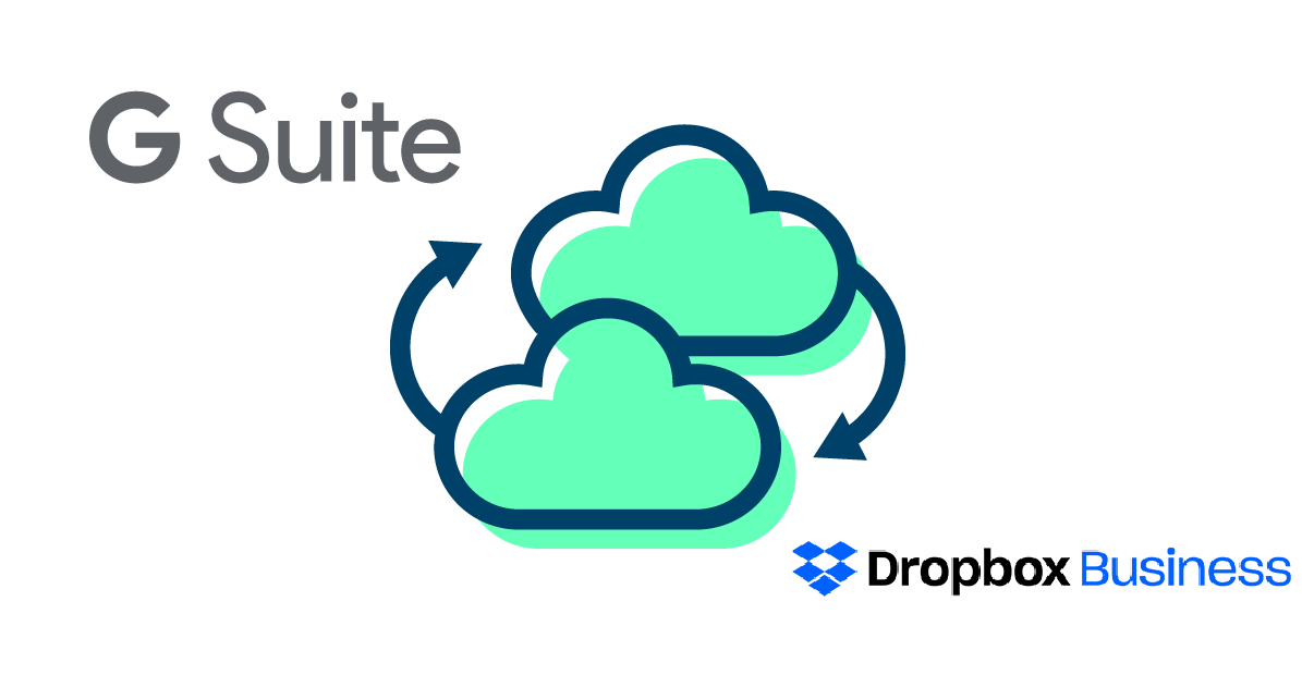 G Suite to Dropbox for Business