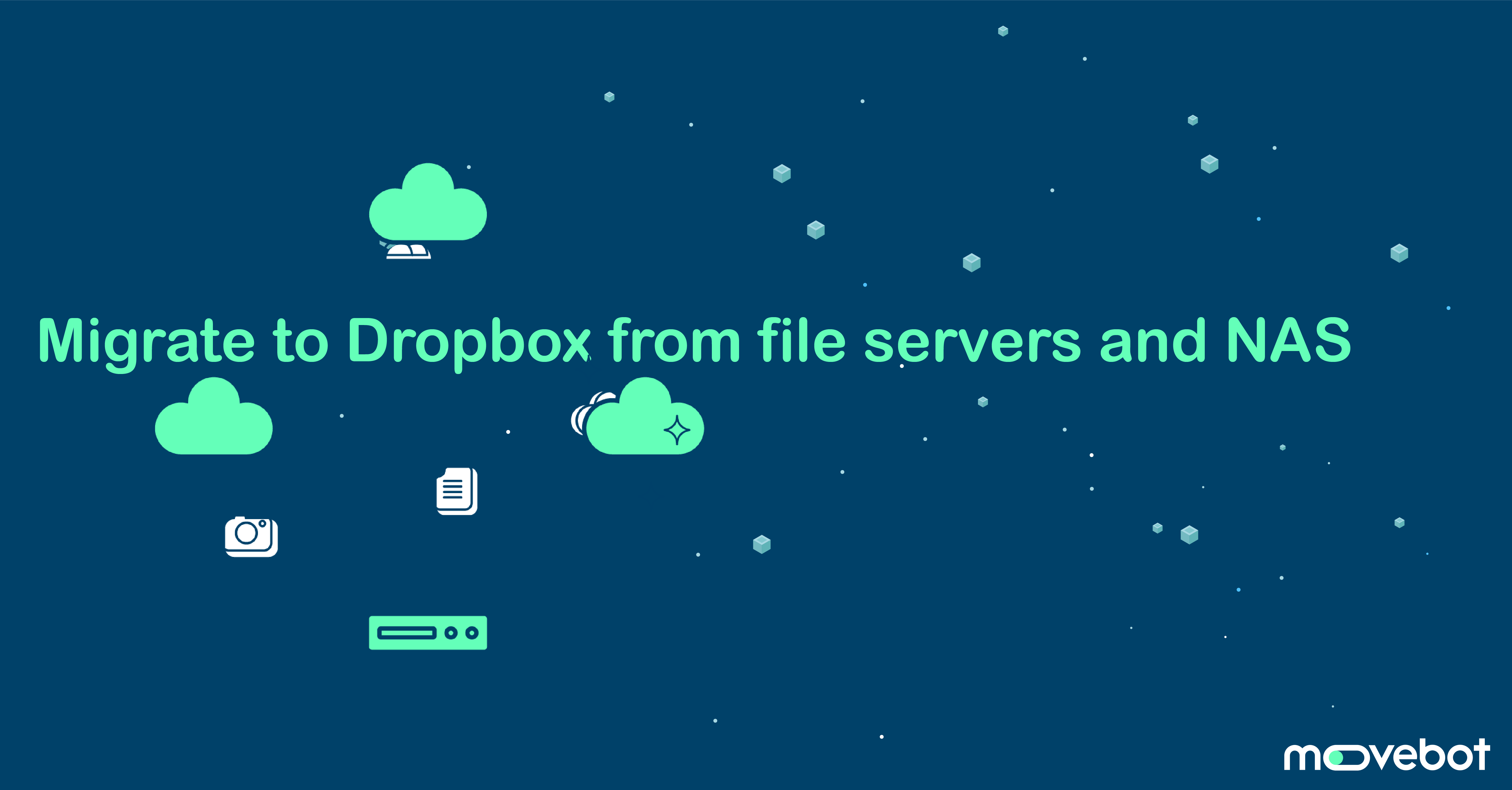 migrate on-premise to dropbox